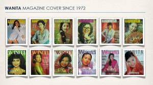 WANITA - Malaysian first established woman magazine cover collection.
