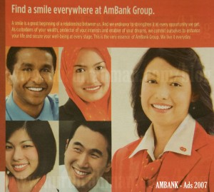 Ambank Ads in The Star Newspaper in Sept 2007
