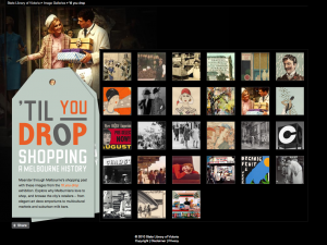Shop Till You Drop Exhibition
