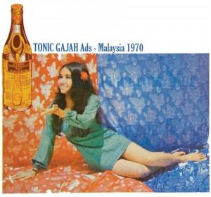 Tonic Gajah Ads 1970