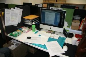 Desk in the Uni