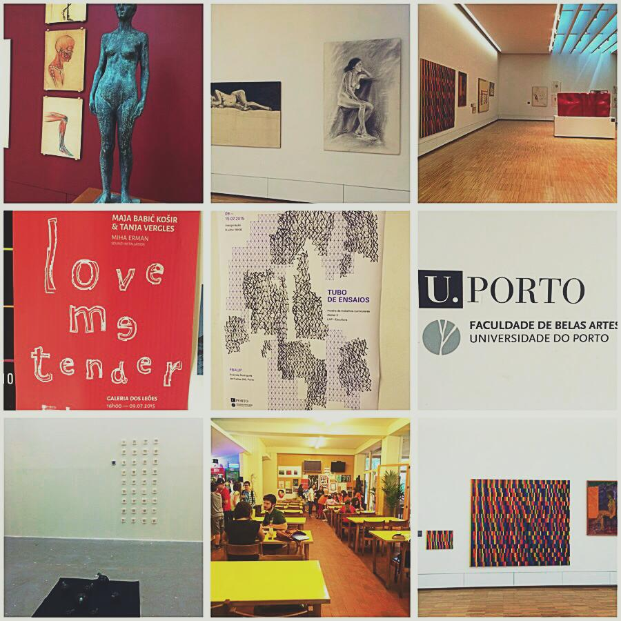 Some of the snap shots during my visit in the Universidate do Porto.